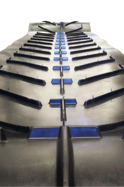 DYNA Engineering Chevron Rubber Conveyor Belts