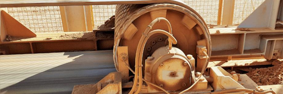 DYNA Engineering Conveyor Pulley onsite