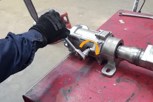 H2 Conveyor Scraper