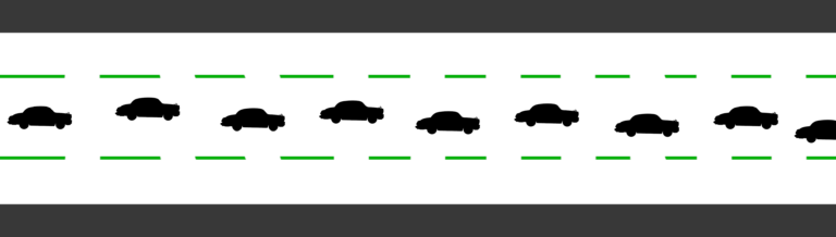 Tracking Roller - Car Example - Diagram