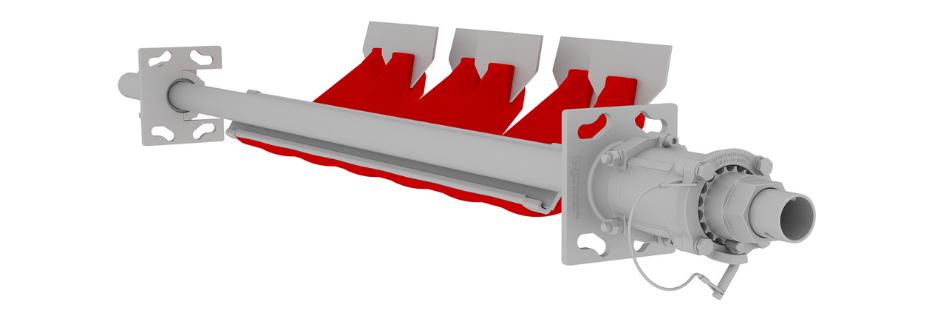 DYNAFastFit Conveyor Belt Scraper DYNA Engineering