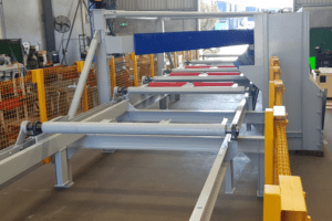 diverter plow conveyor dyna engineering