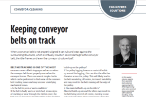 Keeping Conveyor Belts on Track DYNA Engineering Australian Bulk Handling Review March April 2019