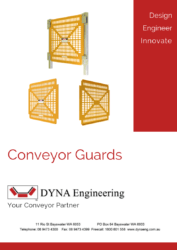 Conveyor Guards DYNA Engineering