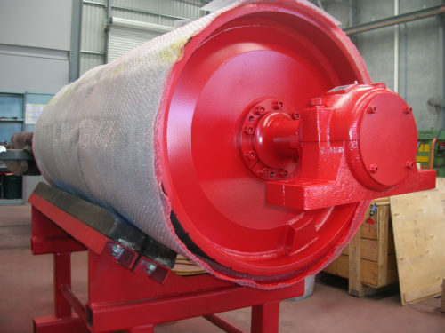 Pulley Painted DYNA Engineering