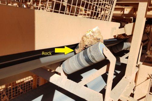 rock jam conveyor DYNA Engineering