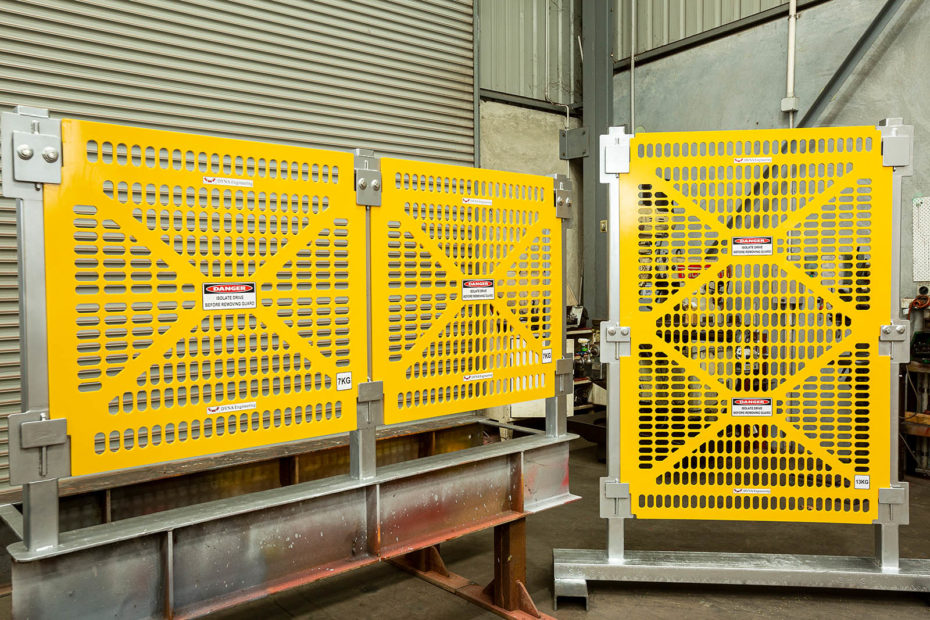 DYNA Engineering HDPE Conveyor Guards