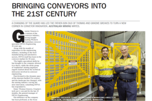 Australian Mining October 2019 DYNA Engineering