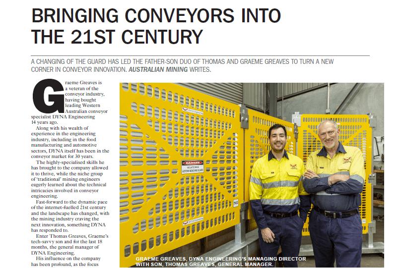 Australian Mining October 2019 DYNA Engineering