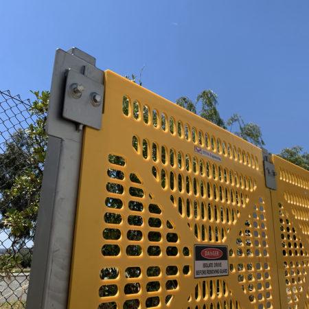 DYNA Engineering conveyor guards HDPE