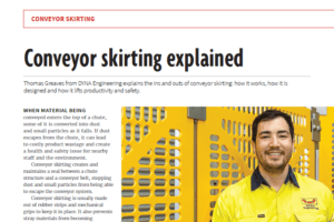 Conveyor Skirting Explained ABHR Jan Feb 2020 DYNA Engineering