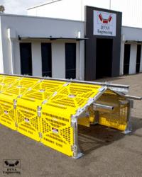 DYNA Engineering Conveyor Gaurd Modules & HDPE Conveyor Guards