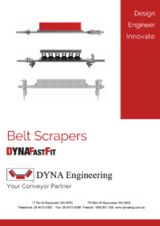 DYNA Engineering Conveyor Belt Scrapers