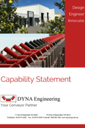 DYNA Engineering Capability Statement Brochure Cover