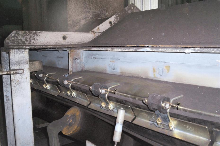 DYNA Engineering Conveyor Skirting On-site