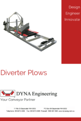 DYNA Engineering Diverter Plow Brochure Cover