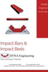 DYNA Engineering Impact Beds and Impact Bars Brochure Cover