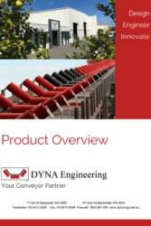 DYNA Engineering Product Overview Brochure Cover