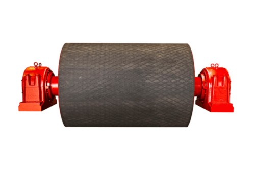 DYNA Engineering Conveyor Pulley Rubber Lagging